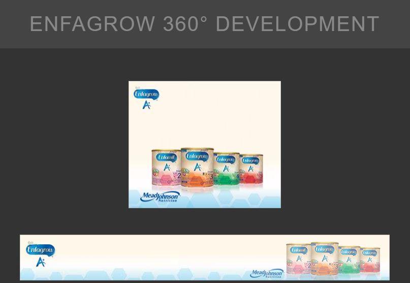 A set of GDN Banner Ads for Enfagrow 360 Development - Digital Advertising