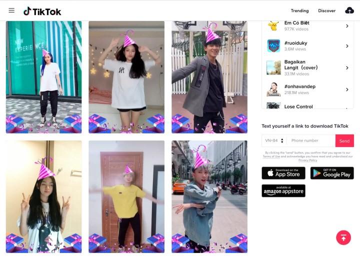 Thử thách TikTok Hashtag x Digital 38