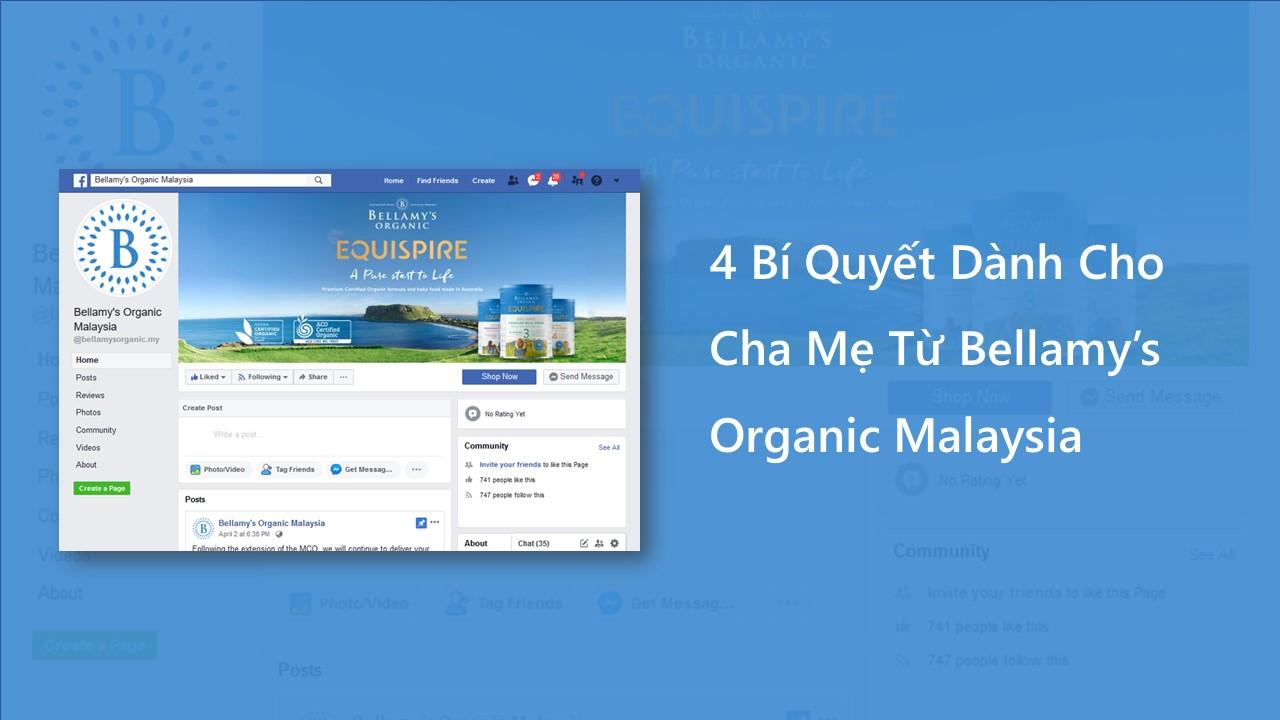 social media marketing Bellamy's Malaysia