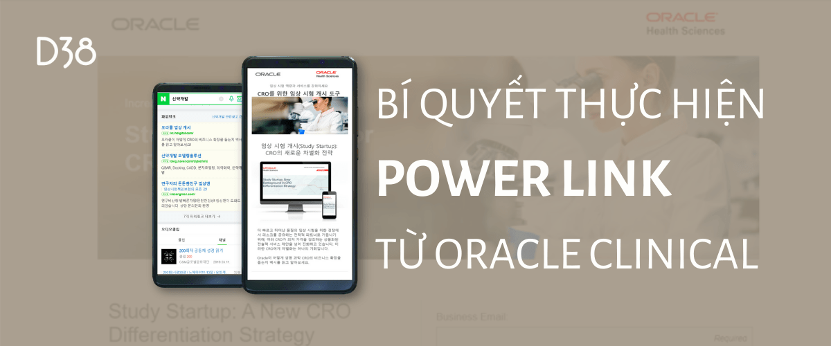 Oracle Clinical | Power Link | quảng cáo Naver | Naver marketing