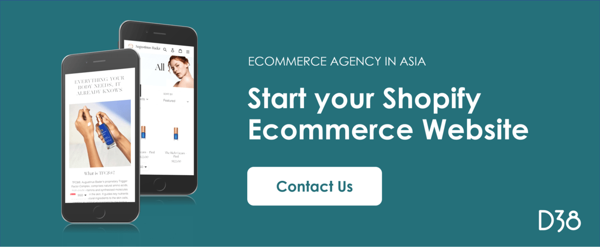 Start Your Shopify Ecommerce Website - Digital 38 Ecommerce Agency