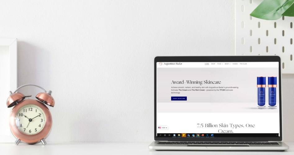 ATC | Augustinus Bader Malaysia Launches New Shopify Website AB MYAB-Malaysia