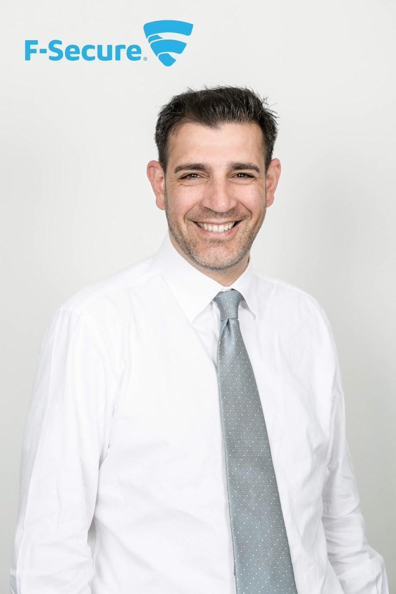 Antonio Pusceddu, Head of Corporate Sales di F-Secure Italia