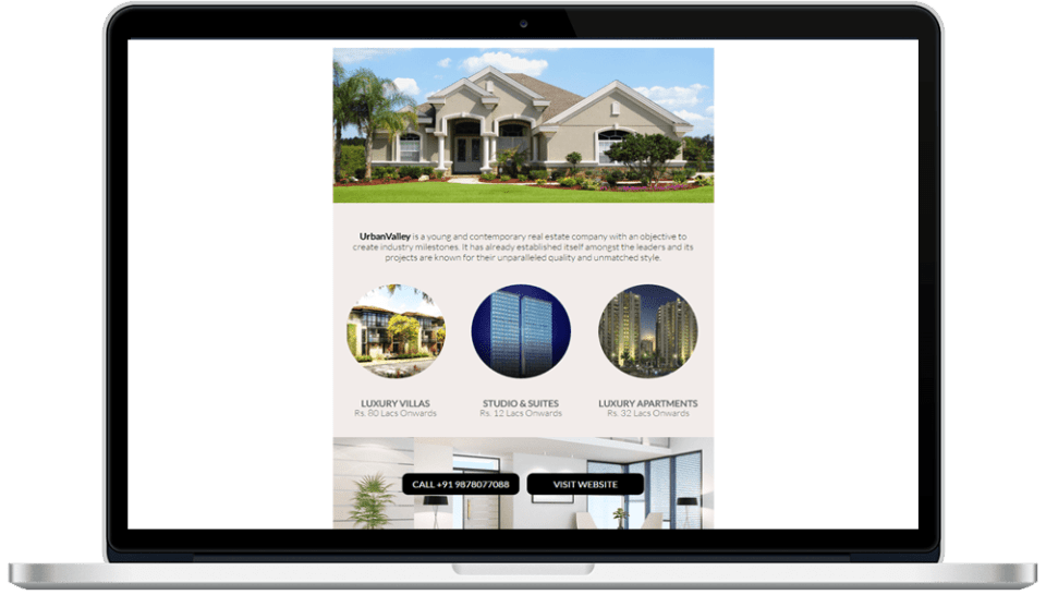 Real Estate HTML Mailer