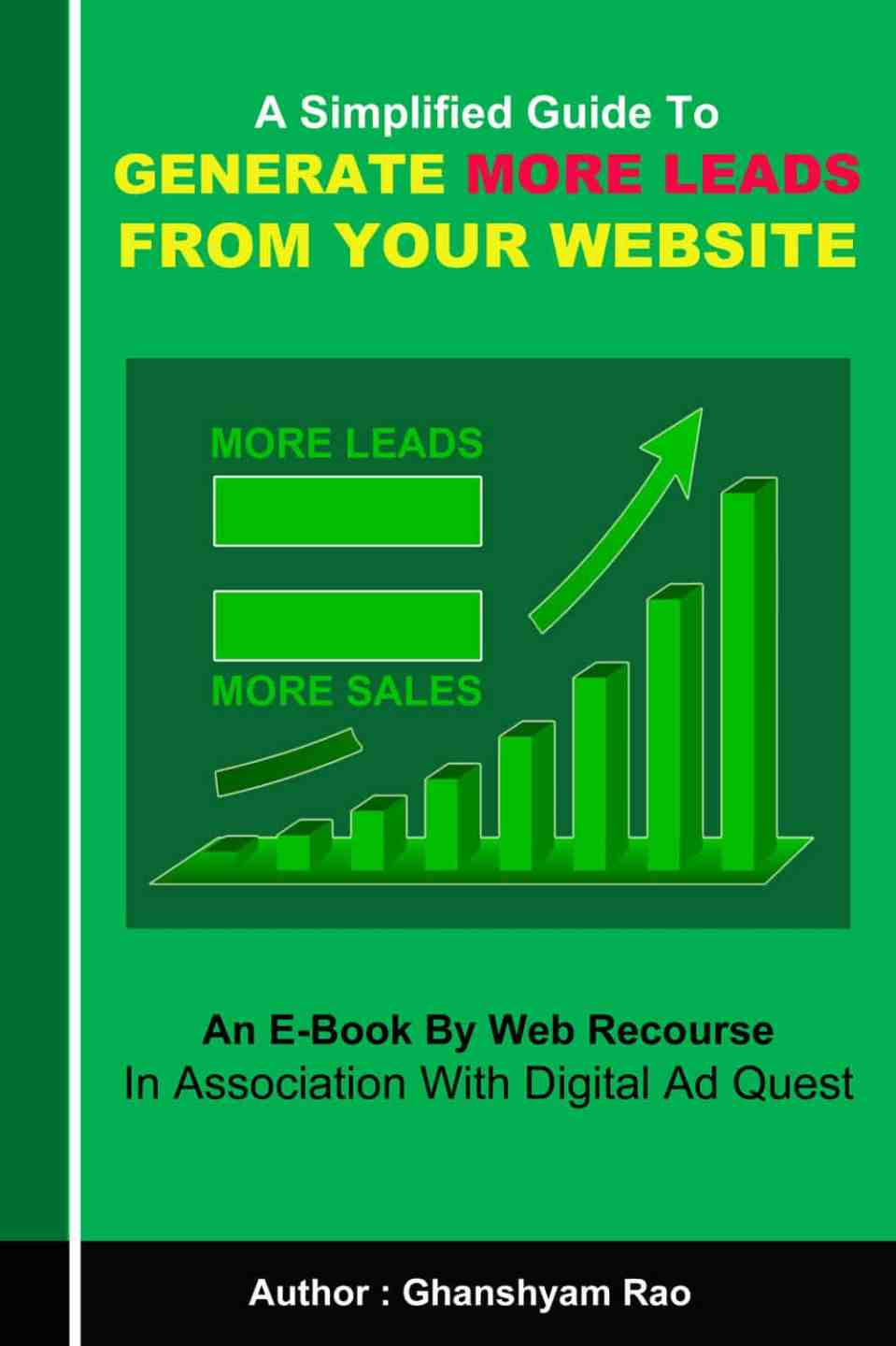 Generate More Leads From Your Website