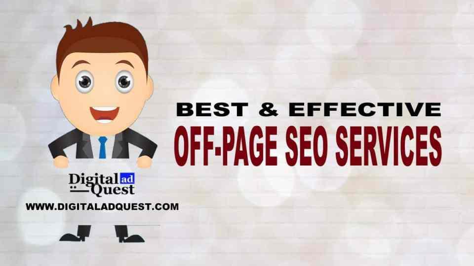 Off-Page SEO Services in Delhi India