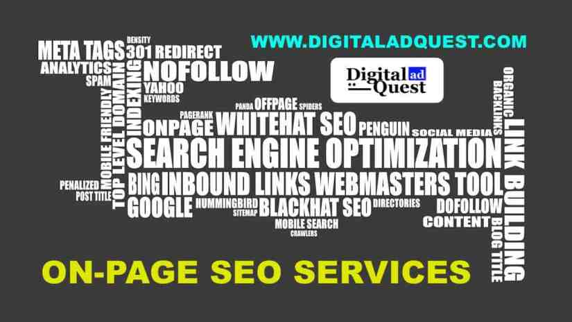On Page SEO Services in Delhi India