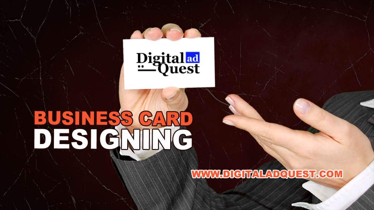 Business Card Designing Services In Delhi, India