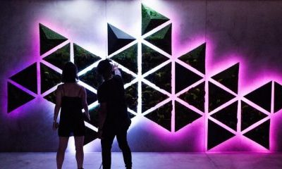 'Kinetic Wall' by VT Pro Design