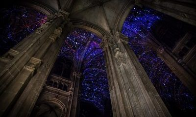 VR Sky Above a Parisian Church