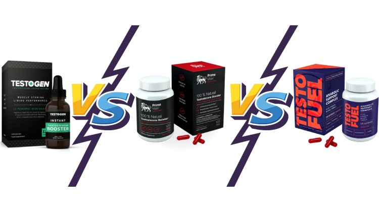 TestoGen vs PrimeMale vs TestoFuel