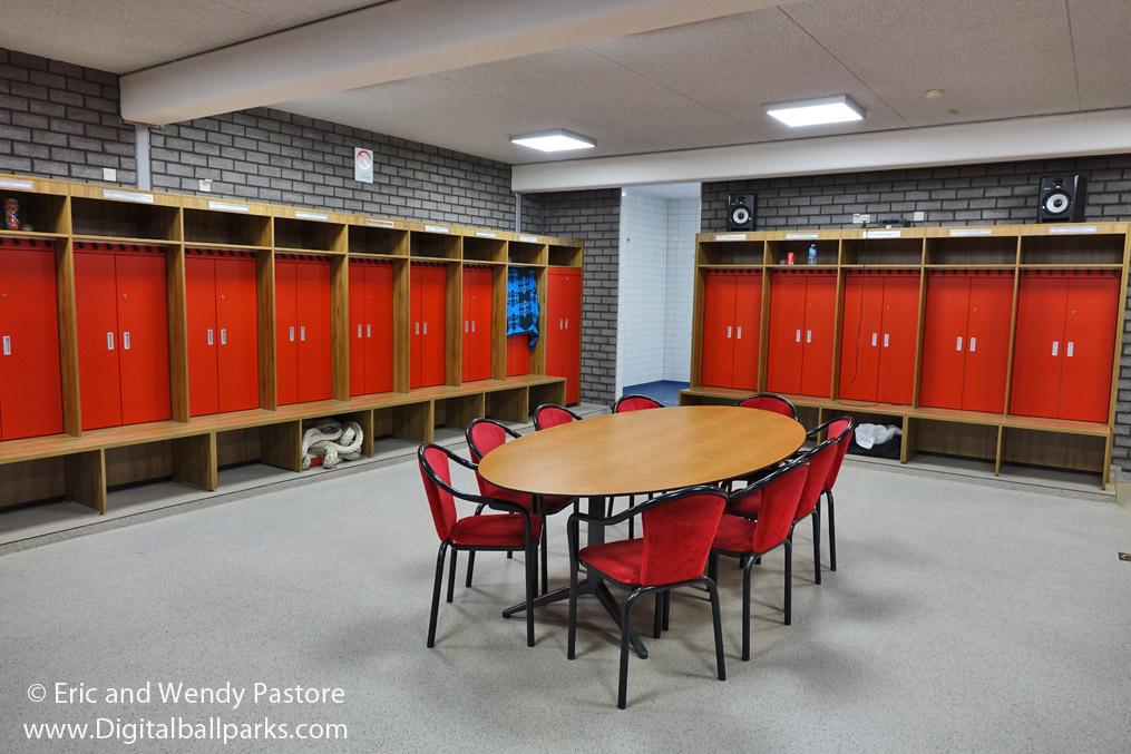 Afbeeldingsresultaat voor Park 21 Pioniers lockerroom