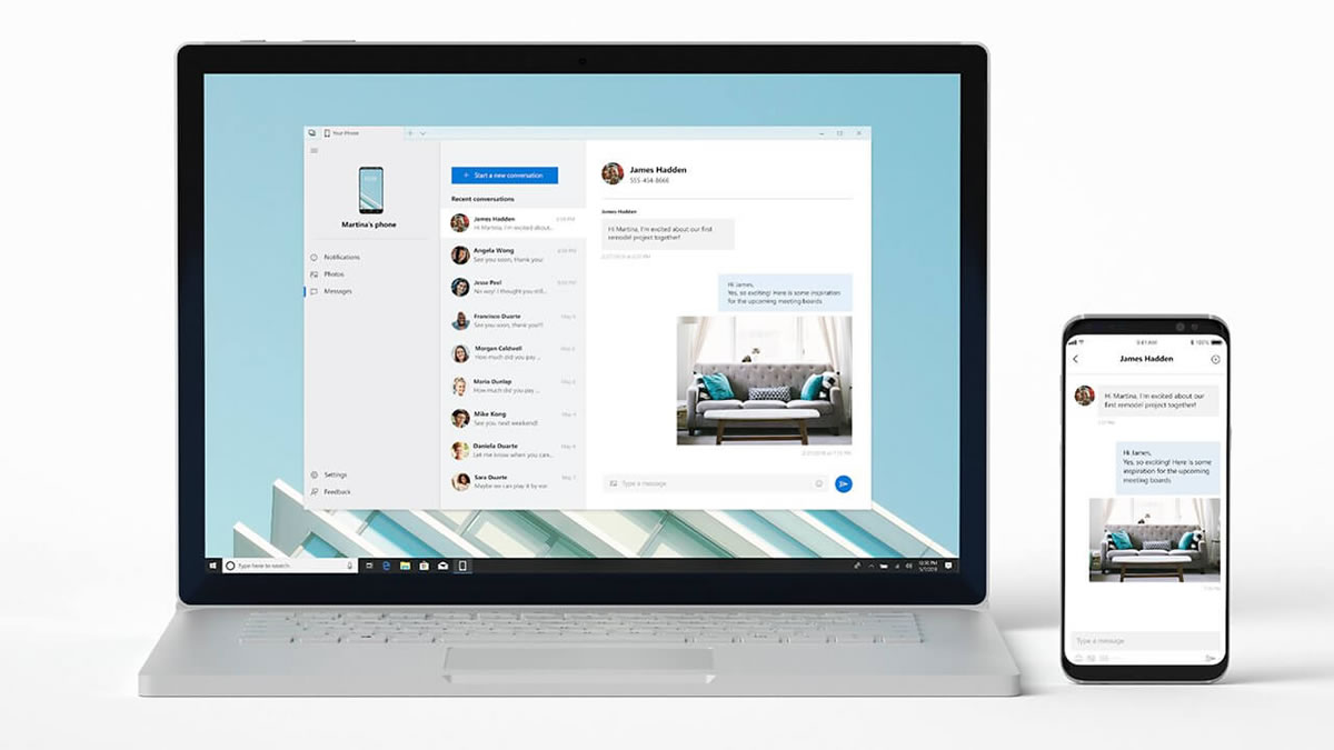 Successful phone linking with your personal computer