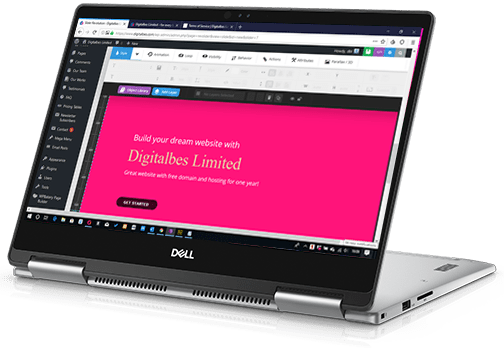 Digitalbes Website Design
