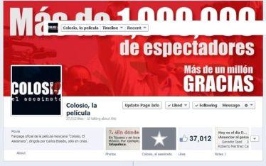 Colosio el asesinato en Facebook