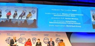 Aurélie Adam Soulé Zoumarou présente le Bénin numérique au Mobile World Congress 2018