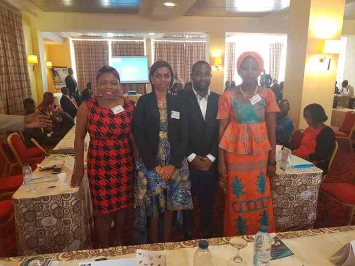 Serge Zambo, Ibamie Aissata, Diane MFONDOUM et Danielle AKINI lauréats du Pitch Hub Africa Yaoundé 2019