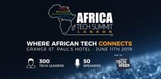 Africa Tech Summit à Londres : JUMO, Flutterwave, BitPesa, OneFi, Lidya et plusieurs Fintech d'Afrique feront leur show le juin 2019