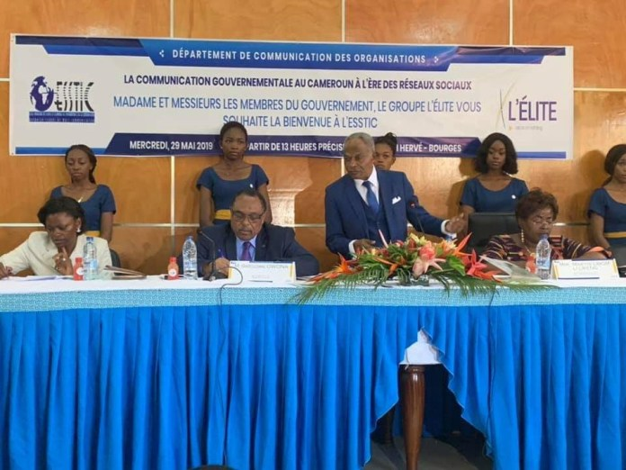 Cameroun : Les étudiants de l'ESSTIC interrogent quatre ministres sur la communication gouvernementale à l'ère des réseaux sociaux