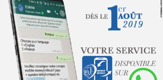 Express Union lance un service de mobile money via WhatsApp