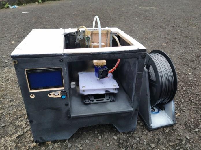 e-Waste 3D Printer