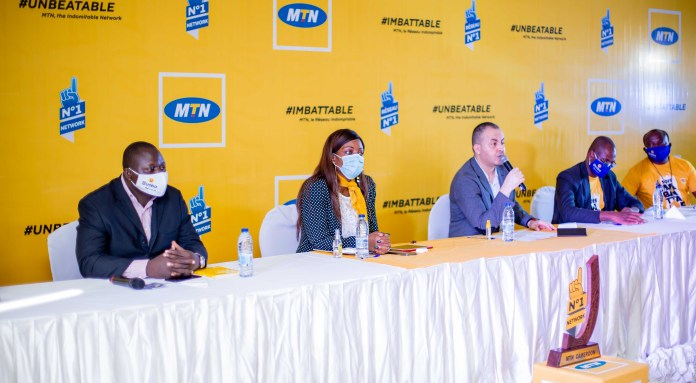 MTN Cameroon connects Indomitable Rigobert Song to its brand