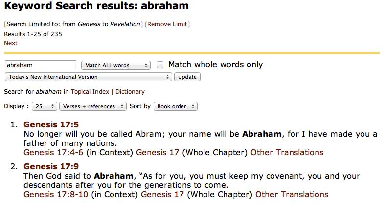bible gateway bible dictionary