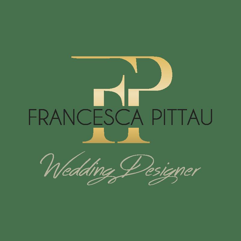 Studio logo Francesca Pittau - Wedding Designer Graphic designer: Stefano Sodini