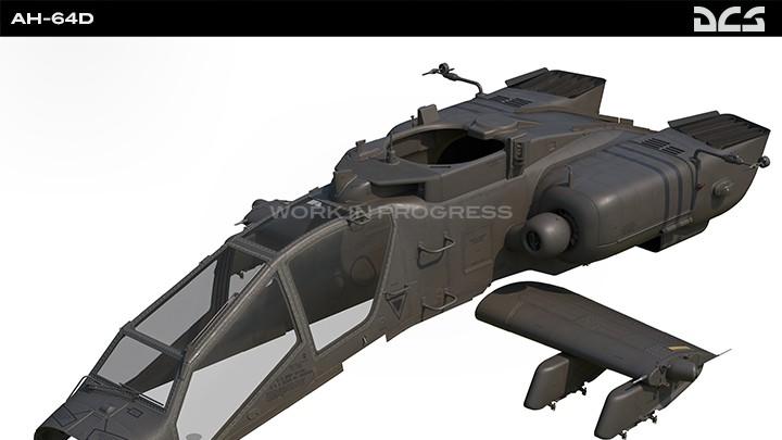 AH-64D - External Model