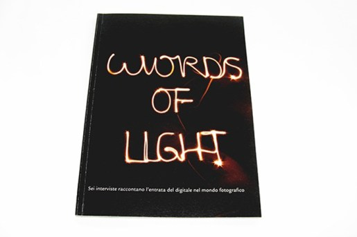 Words of light - Editorial project focused on photography