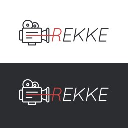Logo for a review site for films and videos