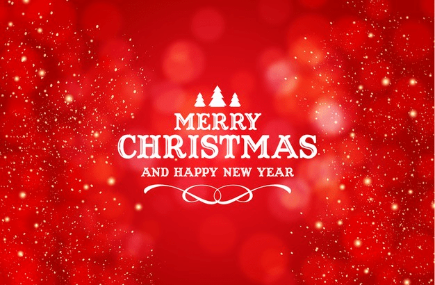 Merry Christmas with Happy New Year Wish