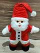 santa claus gift teddy