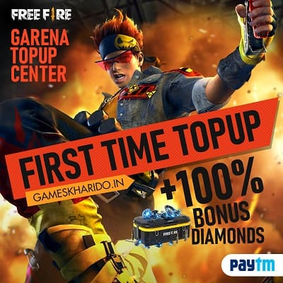 Free Fire Diamond Top Up Hack Method : Double Diamond Top Up