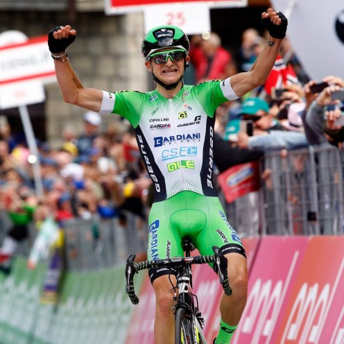 Sestola - Italy - wielrennen - cycling - radsport - cyclisme - Giulio Ciccone (Bardiani - CSF) pictured during stage 10 of the 99th Giro d'Italia 2016 from Campi Bisenzio to Sestola 219 km - foto LB/RB/Cor Vos © 2016
