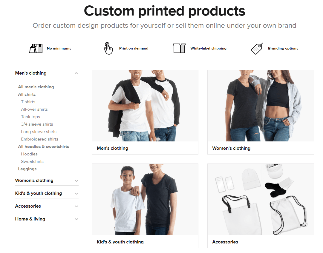 How to find print on demand suppliers for your products