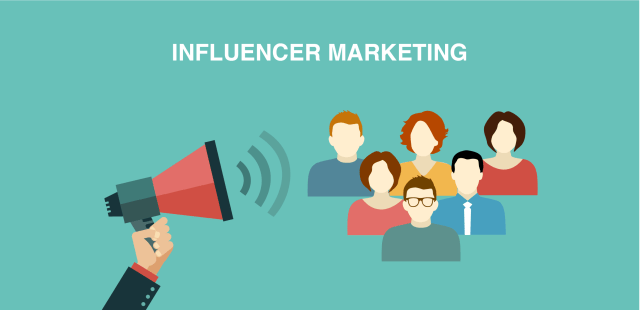 Influencer Marketing 2017 with social media