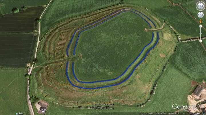Old Oswestry Hillfort Period 1.