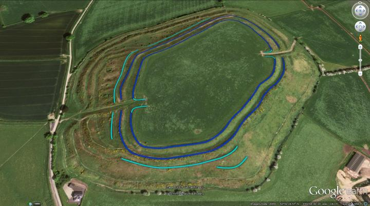 Old Oswestry Hillfort Period 2.