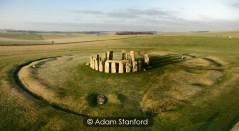 Stonehenge - misty morning. © Adam Stanford.