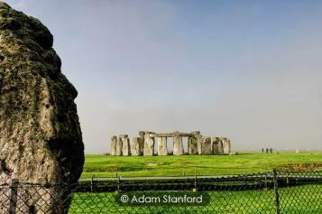Stonehenge - Heelstone and circle. © Adam Stanford.