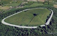 Banwell Camp Hill Fort, near Banwell, Somerset