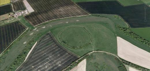 Chiselbury Camp Hillfort, Wiltshire