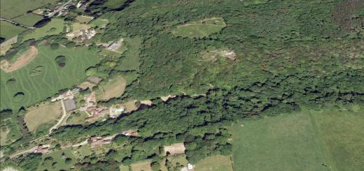 Cleeve Toot Camp Hillfort, Cleeve, Somerset
