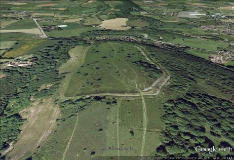 Dolebury Camp Hillfort, Somerset