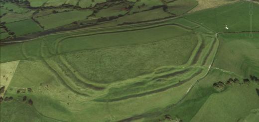 Eggardon Hillfort, Dorset.