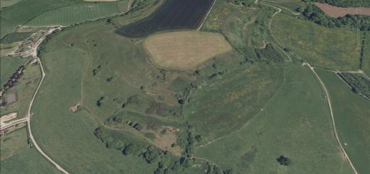 Fox Covert Hillfort, Milton Clevedon, Somerset