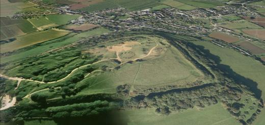 Ham Hill Hillfort, S of Stoke sub Hamdon, Somerset