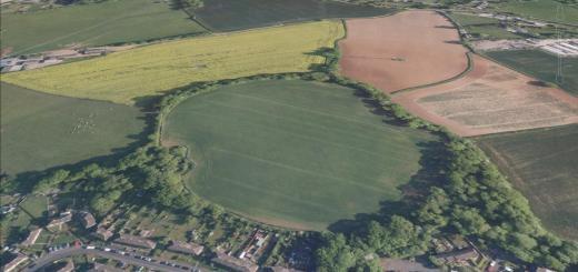 Norton Camp Hillfort, Norton Fitzwarren, Somerset