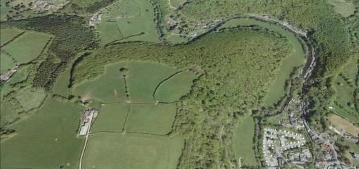 Oldberry Castle Hillfort, Somerset